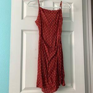 Abercrombie Mini Tie Waist Apron Dress